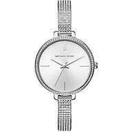 Michael Kors Women s Jaryn Watch Analog-Quartz Stainless-Steel Strap, Silver, 8 (Model MK3783) thumbnail