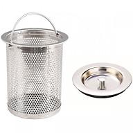 Bộ lọc rác bồn rửa chén inox dễ dàng thay thế cho gia đình thumbnail