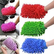 Găng tay sợi san hô lau chùi chuyên dụng HT705 - Giao Ngẫu Nhiên thumbnail