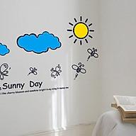 Decal dán tường ngày nắng ấm, sunny day thumbnail