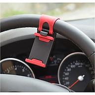 Giá kẹp điện thoại trên vô lăng ô tô thumbnail