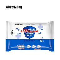 60Pcs Bag Hygiene Wipes Disposable Wet Wipes Non-woven Fabrics Cleaning Wipes thumbnail