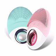 dụng cụ rửa mặt, máy rửa mặt chất liệu silicon kháng khuẩn, chống nước tuyệt đồi - hàng nhập khẩu - giao màu ngẫu nhiên - LLS thumbnail