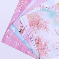 Combo 2 tập Giấy Gấp Origami In Hoạt Tiết Dễ Thương đểGấp Hạc, Gấp Hoa- Giao mẫu ngẫu nhiên thumbnail