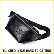 Túi Da Đeo Chéo Túi Bao Tử Nam Hinh 3D Đại Bàng Cao Cấp Sành Điệu Thể Thao E327 thumbnail