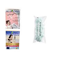 Bộ 03 sản phẩm 01 sữa tắm và 01 dầu gội + 01 xả Heavening tặng kèm bông tắm tạo bọt dài 30cm - Hàng nội địa Hàn Quốc. thumbnail