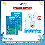 Combo 2 Chỉ Nha Khoa Oral-B Satin Mint Cho Nứu Nhạy Cảm (Hộp 50m) thumbnail