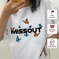 Áo thun tay lỡ nữ freesize WinBeen phông form rộng dáng Unisex Ulzzang mặc cặp, nhóm, lớp in hình BƯỚM MISSOUT BUTTERFLY thumbnail