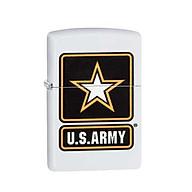 Bật Lửa Zippo Us Army Star White Matte Chính Hãng Usa thumbnail