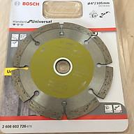 Đĩa cắt đá đa năng 105x20 16x7.0mm Bosch 2608603726 thumbnail