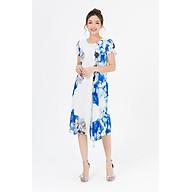 Đầm suông can vạt LAMER L63T19H063-F3315 (Xanh Dương, Trắng) thumbnail