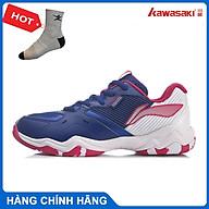 Giày cầu lông Lining AYTR008-2 chính hãng dành cho nữ, đế kếp đàn hồi chống lật cổ chân - Tặng tất thể thao Bendu thumbnail