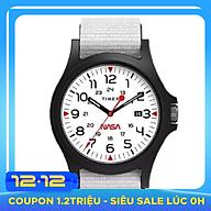 Đồng hồ Unisex Timex Acadia X NASA TW2T92700 - Trắng thumbnail