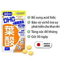 Viên uống Acid Folic DHC Nhật Bản dành cho bà bầu thực phẩm chức năng 30 ngày JN-DHC-FOL30 thumbnail