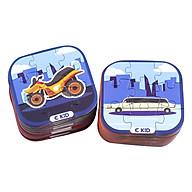 Bộ 48 Thẻ 3D Xếp Hình (Xe Cộ) Ekidar thumbnail