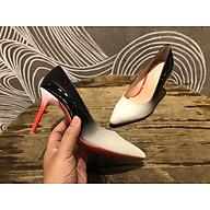 8948-giày mũi nhọn cao gót đế đỏ thumbnail