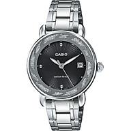 Đồng hồ nữ Casio LTP-E120D-1ADF Dây đeo kim loại - Viền mạ kim tuyến sang trọng nữ tính thumbnail