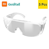 Youpin Qualitell Goggles Transparent Safety Eye Protection Glasses Eyewear For Prevent Saliva Splash Windproof thumbnail
