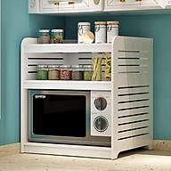 Kệ lò vi sóng, kệ nhà bếp thiết kế nhiều ngăn nhỏ gọn FNN-257 thumbnail
