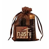 Bộ Nashi Argan Travel Kit chăm sóc tóc (Gội 30ml + Xả 30ml + Tinh dầu 5ml) thumbnail