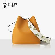 Túi đeo chéo nữ Pingo Bag 23 Basic Pattern Set FB20PBTN2MT - màu mù tạc thumbnail