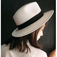 Mũ cói panama phong cách nón cói phớt thời trang thumbnail