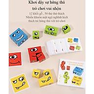 Đồ chơi luyện tập phản xạ tương tác cho gia đình và bé vui chơi EMOTION PUZZLE thumbnail