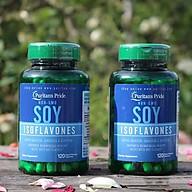 Combo 2 lọ thực phẩm chức năng Tinh chất mầm đậu nành - Non GMO Soy Isoflavones 750 mg (120 viên) thumbnail