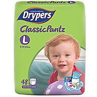 Tã Quần Drypers ClassicPantz Gói Đại L48 (48 Miếng) + Tặng 1 Gói Cùng Loại thumbnail