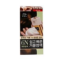 Korea Miseenscene Hello Bubble Easy Self Hair Dyeing Coloring Choco Brown thumbnail