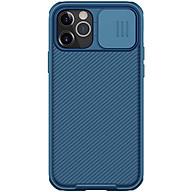 Ốp lưng chống sốc bảo vệ Camera cho iPhone 12 iPhone 12 Pro (6.1 inch) hiệu Nillkin Camshield (có khung & nắp đậy bảo vệ Camera) - Hàng nhập khẩu thumbnail