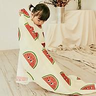 Chăn xô mùa hè cho bé và trẻ nhỏ (2 lớp) Rototo Bebe Hàn Quốc kích thước 90x120cm thoáng khí, thấm hút mồ hôi tốt thumbnail
