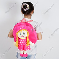 Balo mẫu giáo cặp trẻ em BÉ GÁI hoạt hình ngộ nghĩnh cho bé mấu giáo 2-7 tuổi thumbnail