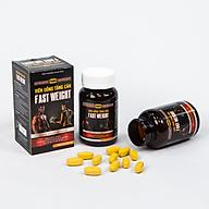 Viên tăng cân Fast Weight - Hộp 25 Viên Whey Protein nhập Mỹ, tăng cân hiệu quả, không tích nước thumbnail