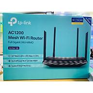 Router Wifi Băng Tần Kép TP-Link Archer C6 Gigabit AC1200 MU-MIMO - Hàng Chính Hãng thumbnail