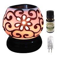 Combo tinh dầu sả chanh Eco oil 10ml cùng đèn xông tinh dầu tam giác TG04 thumbnail