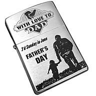 Bật Lửa Zippo 200 Khắc Father S Love 06 Zippo 200.Fatherlove06 thumbnail