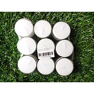 Nến tealight 9 viên không mùi rất dày cháy từ 9h-10h Bio Aroma thumbnail