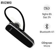 Tai nghe Bluetooth Mozard LE003 Đen - Hàng Chính Hãng thumbnail