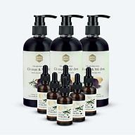 Bộ 3 dầu gội Cỏ Mực Mộc Nhu 300ml và 6 serum 30 ml thumbnail