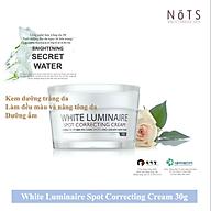 Kem dưỡng ẩm và trắng da NoTS White Luminaire Spot Correcting Cream 30g thumbnail