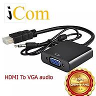 Cáp chuyển HDMI to VGA có Âm Thanh Full HD 1080P thumbnail