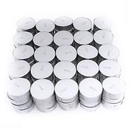 Nến tealight 100 viên không mùi dày 1.3cm cháy từ 3h-4h Bio Aroma thumbnail
