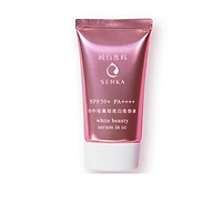 Serum chống nắng 3 trong 1 Senka White Beauty Serum in CC tặng mặt nạ giấy nén Miniso thumbnail