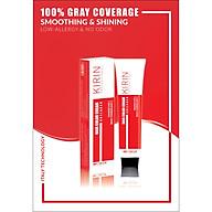 Kem nhuộm tóc collagen kirin màu vàng sáng thời trang (9 33) 100g thumbnail