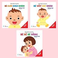 Bộ sách Ehon tương tác đầu đời Em bé xin chào (3 cuốn) thumbnail