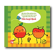 Sách vải song ngữ Anh - Việt - Mix & match - Các loại quả ( Từ 1-3 tuổi) thumbnail