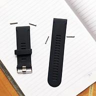 Dây đeo đồng hồ thông minh thể thao chất liệu Silicone chống khuẩn size 26mm - Hàng chính hãng thumbnail