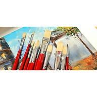 CỌ NGANG SUNWAY B330SF SỐ 8 (LÔNG HEO-sơn dầu,acrylic) thumbnail