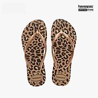 HAVAIANAS - Dép nữ Slim Flatform Animals 4144942-3581 thumbnail